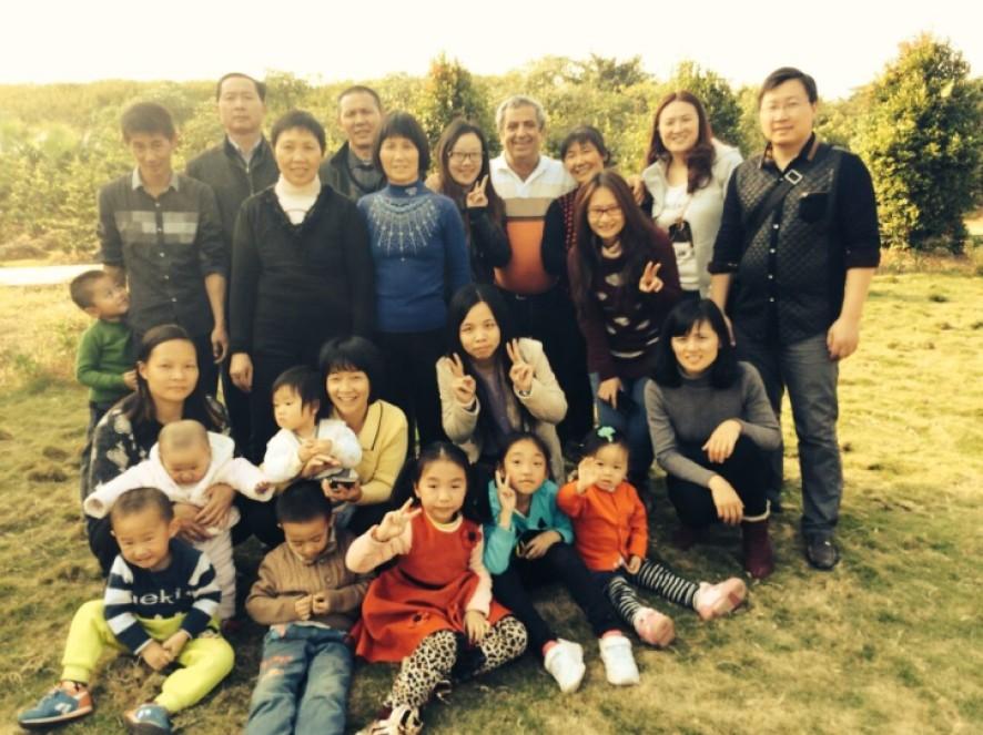 Εκδρομή στην Γουακγζου της Κίνας με φίλους Κινέζους/2014